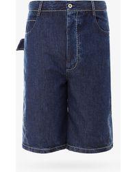 Bottega Veneta Bermuda Shorts - Blue