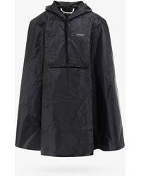 Off-White c/o Virgil Abloh Rain Coat - Black