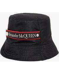 Alexander McQueen Cloche - Black