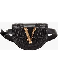Versace Belt Bag - Black