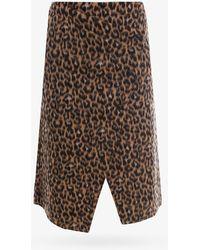 Erika Cavallini Semi Couture Skirt - Brown