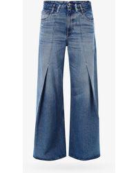 MM6 by Maison Martin Margiela Jeans - - Woman - Blue
