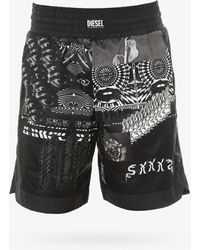 DIESEL Swim Trunks - Black