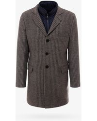 Fay Coat - Brown