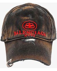 Balenciaga Cotton Hat - Black