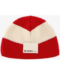 Sunnei Hat - - Man - Red