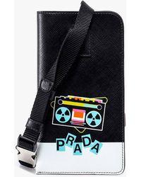 Prada I-phone Case - Black