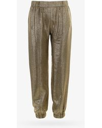 Saint Laurent Pants - Metallic
