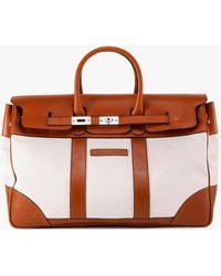 Brunello Cucinelli Duffle Bag - White