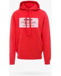 Ecoalf Sweatshirt - Red