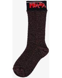 Prada Socks - Brown