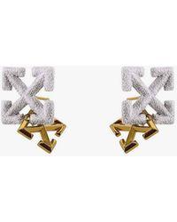 Off-White c/o Virgil Abloh Double Arrows Earrings - Multicolour