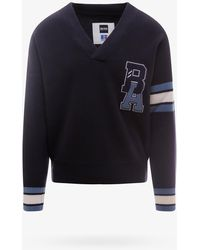 BOSS x Russell Athletic Sweater - Blue