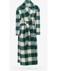 Erika Cavallini Semi Couture Coat - - Woman - Green