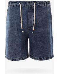 The Silted Company Bermuda Shorts - Blue