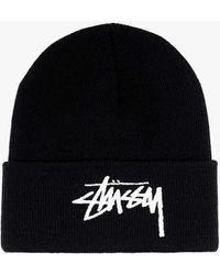 Stussy Hat - - Man - Black