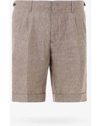 Z Zegna Bermuda Shorts - Natural