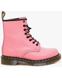 Dr. Martens 1460 40mm Lace-up Ankle Boots - Pink