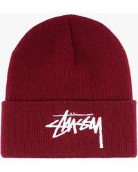 Stussy Hat - - Man - Red