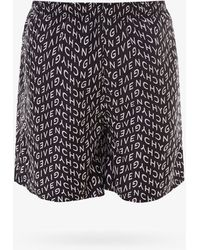 Givenchy Swim Trunks - Black