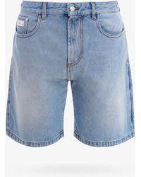 Gcds Bermuda Shorts - Blue