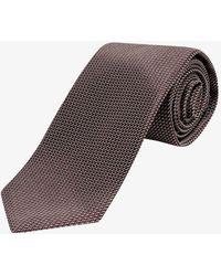 Tom Ford Tie - - Man - Brown