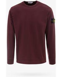 Stone Island Sweatshirt - Red