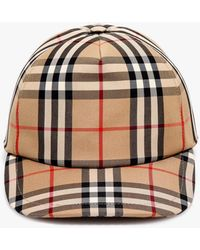 Burberry Cappello da baseball Vintage Check - Neutro
