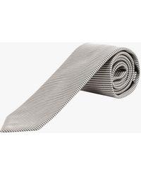 Tom Ford Tie - - Man - Grey