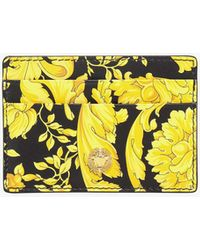 Versace Card Holder - Yellow