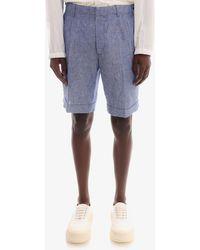 Z Zegna Bermuda Shorts - Blue