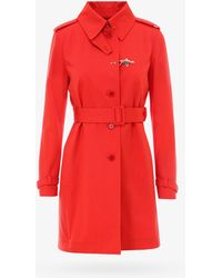 Fay Trench - Red