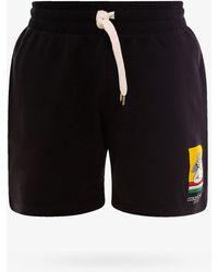 CASABLANCA Bermuda Shorts - Black
