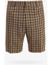 Fendi Bermuda Shorts - Natural