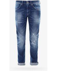 Dondup Five Pockets Jeans - Blue