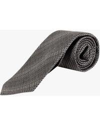 Tom Ford Tie - - Man - Gray