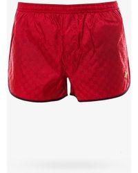 Gucci Swim Trunks - Red