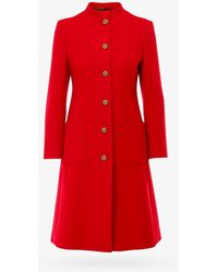 Gucci Coat - - Woman - Red