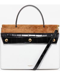 Burberry Sm Title Pocket - Black