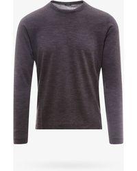 Zanone T-shirt - Gray