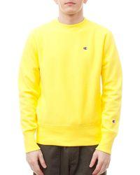 Champion - Reverse Weave Crewneck Sweatshirt - Lyst