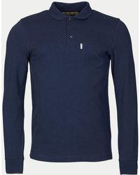 Barbour - Cerwin Long Sleeve Polo - Lyst
