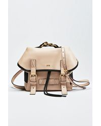 N°21 Chunky Chain-embellished Logo Backpack - Multicolor