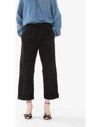 N°21 - Wide-leg Pants - Lyst