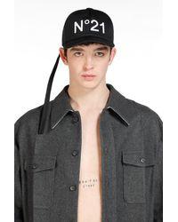 N°21 HATS - Noir