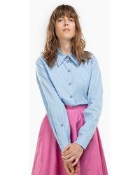 N°21 - Star Button Shirt - Lyst