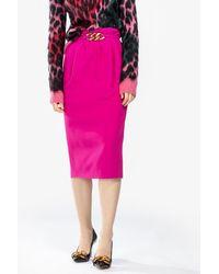 N°21 Pencil Skirt - Pink