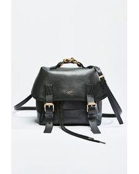 N°21 Chunky Chain-embellished Logo Backpack - Black