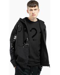 N°21 Sweat à capuche à logo imprimé - Noir