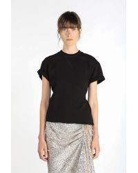 N°21 - T-shirt à découpe au dos - Lyst